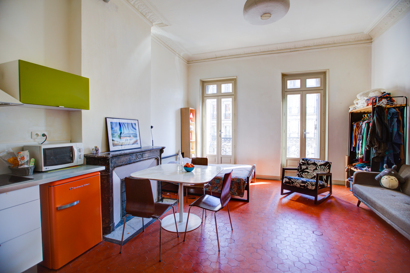 Vendu Marseille 13001 – Saint-Charles – Studio – Grenier – 99 000 €