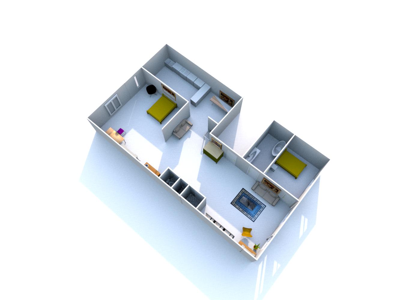 Plan 85 rue Sylvabelle